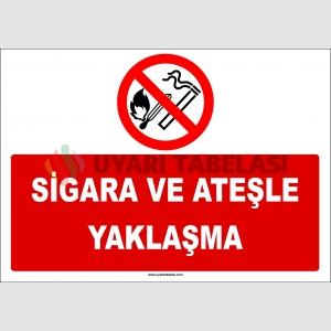 ZY2710 - Sigara ve Ateşle Yaklaşma