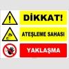 EF1152 - Dikkat! Ateşleme Sahası, Yaklaşma