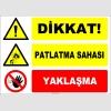 EF1153 - Dikkat! Patlatma Sahası, Yaklaşma