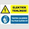 EF1374 - Elektrik Tehlikesi, Trafoda Çalışırken Yalıtkan Eldiven Giy
