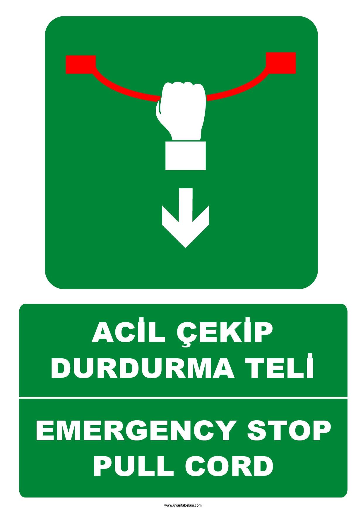 Emergency stop cord twin tub mop bucket with wheels