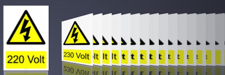 Elektrik Voltaj Değerleri
